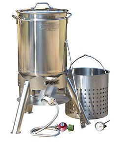Bayou Classic 800-144 44 quart Boil and Brew, Stainless Review