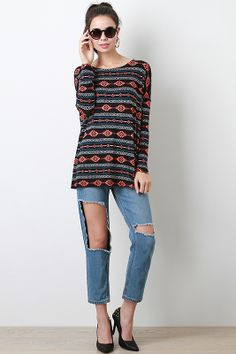 Tribal Furor Top
