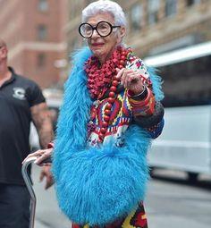 Iris Apfel: l'originalité à son meilleur - It-girls: 60 ans et plus, et un style…
