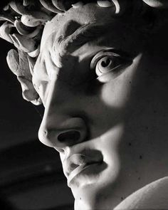 David is a masterpiece of Renaissance sculpture created between by Michelangelo. The statue represents the Biblical hero David, a favoured subject in the art of Florence. Sculpture Romaine, Renaissance Kunst, Greek Statues, Roman Sculpture, Miguel Angel, Art Inspo, Art History, Face, Michelangelo Tattoo