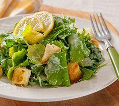 Baby Kale Caesar Salad