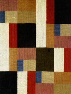 Sophie Tauber-Arp, Vertical-Horizontal Composition, 1916