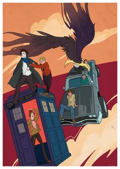 SuperWhoLock  Time for an Adventure