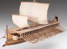 #ebay #Greek #Trireme #Dusek #Model #Wooden #Model #Ship #Kit #Quality #Handcrafted #Scale 1/72