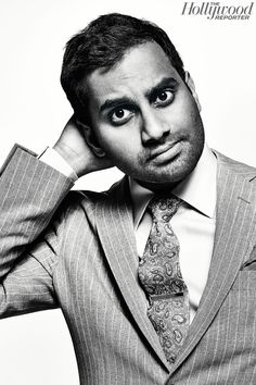 Aziz Ansari, photo by Miller Mobley