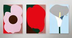 flowers design graphic kazuya iwanaga デザイン 岩永和也 花 グラフィック kazuyaiwanaga.tumblr.com
