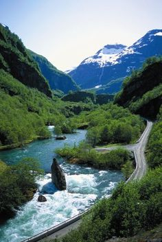 Did somebody say ROAD TRIP? Norway is the just the place...