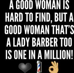 Lady barber