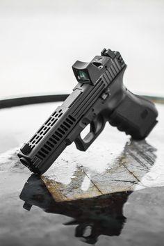 Glock OEM Custom Machined Slide by Lone Wolf