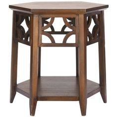 Bali Resorts Brown Hexagon End Table | Overstock.com