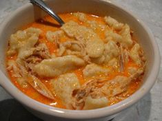 Hungarian Chicken Paprikash*Chicken and dumplings Recipe | Just A Pinch Recipes