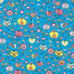 Lieblingsstücke: Haus&Herz auf blau, 6,90 EUR /...