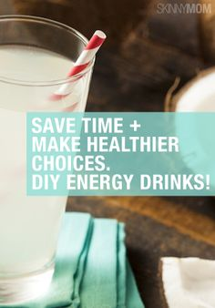 These are the perfect drinks to give you energy and put a pep in your step while making healthy choices! Energy Smoothies, Smoothie Drinks, Detox Drinks, Healthy Smoothies, Healthy Drinks, Get Healthy, Energy Drinks, Smoothie Recipes, Healthy Snacks