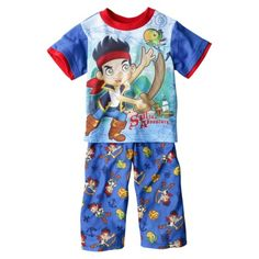 Size 18 months 037 Disney Boys Top and Pants Jake and the never land pirates