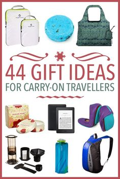 44 gifts for travellers for this festive season. These travel gift ideas are ideal for anyone who wants to pack light and include clothes, beauty products, luggage, electronics, and tiny but useful accesories. They are divided by price so you can find som Travel Items, Travel Gadgets, Travel Hacks, Budget Travel, Tech Gadgets, Travel Guide, Best Travel Gifts, Best Gifts, Smash Book