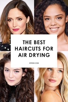 Haircuts that are easy to manage and look good when air-dried