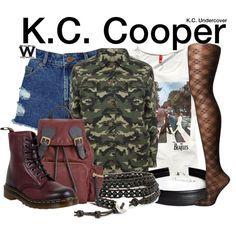 Inspired by Zendaya as K.C. Cooper on K.C. Undercover.