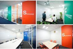 執務スペースの会議室