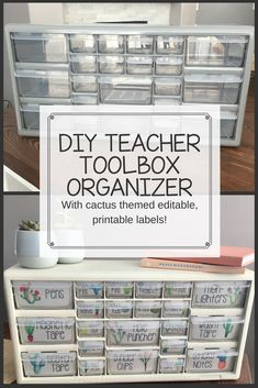 DIY Teacher Toolbox