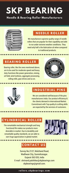SKP Bearings are the India's leadingbearingroller experts and exporters for many industry leadingmanufacturers. We offer high qualitybearings, genuine and backed by a full manufacturer's warranty.