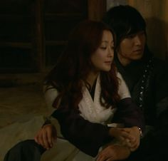 Lee Minho and Kim Hyesun in The Great Doctor, Faith.