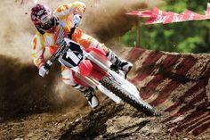 Off-Road Motorcycle Racing HD Wallpaper