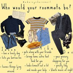 """Dash 🌻 on Instagram: """"so who would you choose as a roommate? I'll post a female version of this later today!! • • • • • • #moodboard #moodboards #aesthetic…"""" Grunge Outfits, Grunge Fashion, 90s Fashion, Fashion Outfits, Aesthetic Fashion, Aesthetic Clothes, Estilo Grunge, Outfit Goals, Outfit Ideas"""