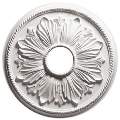 Focal Point 81641 41-Inch Renaissance Medallion 41-Inch by 41-Inch by 1 3/4-Inch, Primed White >>> You can get more details here : home diy improvement