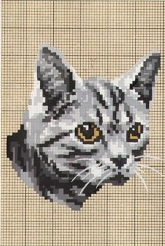 Cross Stitch Cat Chart