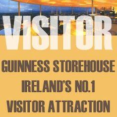 Δωρεάν είσοδος στο Guinness Storehouse στην Ιρλανδία.
