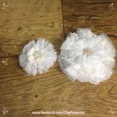 #cabelos #flor #casamento www.obapresentes.com.br
