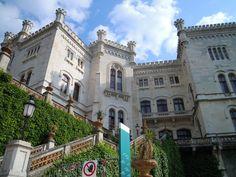 Castello Miramare, Trieste, Italy***