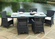 Outdoor Garden Furniture Auckland 170cm Round Dining Table