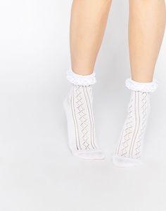 ASOS   ASOS - Socquettes à volants en crochet