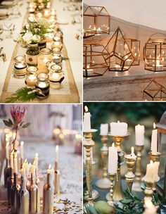 Simple & Inexpensive Winter Wedding & Home Décor Ideas | See them all on www.onefabday.com