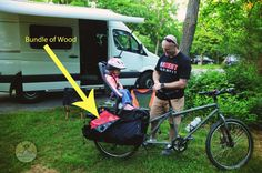 Sprinter Van and Big Dummy www.AdventureFamilyInMotion.com