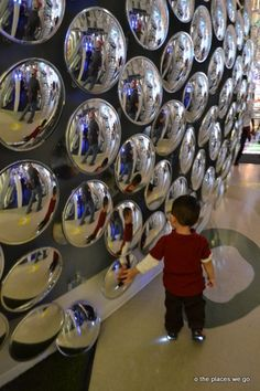 Check out their aquarium, recreated schooner, spin in a hamster wheel, or lie on a bed of nails. Discovery World - Milwaukee, WI - Kid friendly activity reviews - Trekaroo