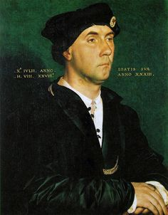 Portrait of Sir Richard Southwell by Hans Holbein. The Uffizi, Florence.