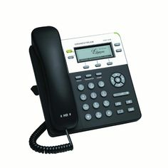 GrandStream GXP2140 Enterprise /& SMB IP 4 Line Business Telephone w// LCD Screen