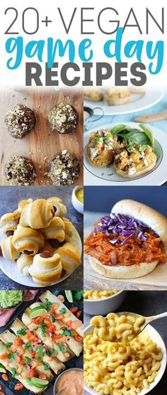 Vegan Game Day Food - from pizza to tacos to burgers to fries to nachos...get your game day appetizers / recipes here! via @karissasvegankitchen