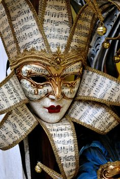 Note in maschera by Ermanno Radice on Carnival Of Venice, Carnival Masks, Carnival Costumes, Harlequin Mask, Costume Venitien, Italy Art, Italy Italy, Venice Mask, Sketch Tattoo Design