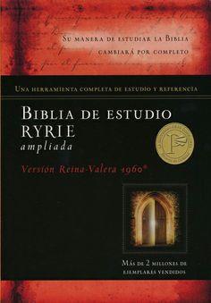 Biblia de estudio Ryrie ampliada: Tapa dura, con o sin Índice. ISBN: 9780825418167