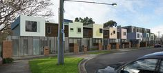 Duckbuild Architecture - Residential Exteriors (Visualisation) - Proposed Moonee Ponds Townhouses