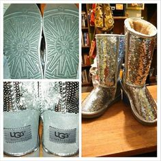 <3 sparkly Uggs