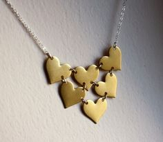 quirky heart necklace