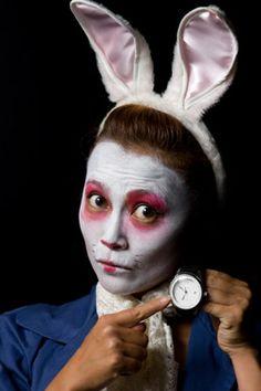 White Rabbit face paint