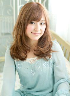 愛されロング 【NOLUE】 http://beautynavi.woman.excite.co.jp/salon/27509?pint ≪ #longhair #longstyle #longhairstyle #hairstyle ・ロング・ヘアスタイル・髪型・髪形・セミロング≫