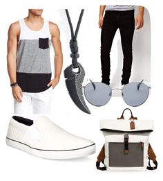 """well yea"" by darrick-howard-ii on Polyvore featuring Civil Society, Dr. Denim, Clarks, Original Penguin, Coach, men's fashion and menswear"