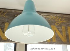 Ikea Hack Barn Light - At Home on the Bay