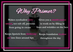 Glorious Primer. This is a must with your daily makeup routine